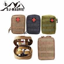 Открытый выживания Путешествия первой помощи сумка Молл медицинские Охота аварийного пакет мешок Утилита Сумка мешок с Красного Креста