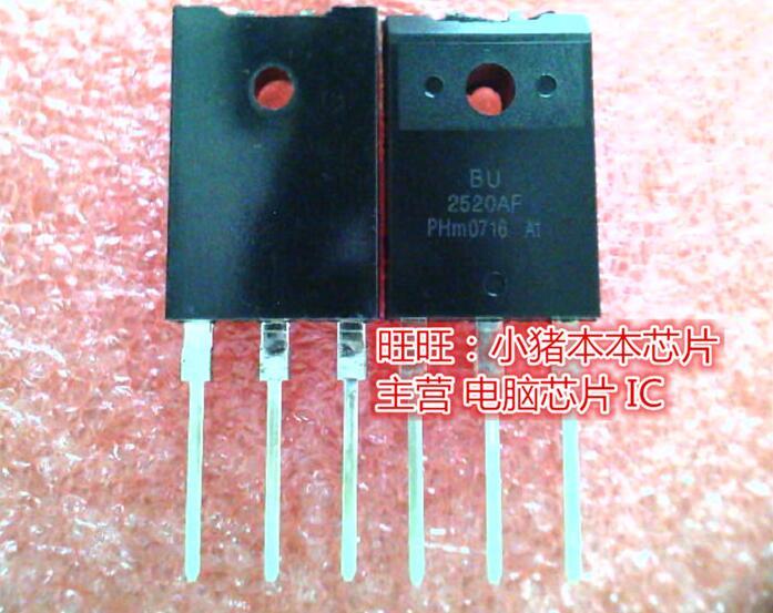 10pcs BU2520DX TO-3PF BU2520 TO-3P 2520DX TO3PF
