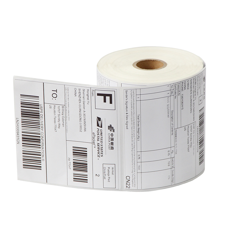 Address adhesive stickers labels 100*100mm*500 sheets thermal papers for labeling and sealing marks wholesale with a good price