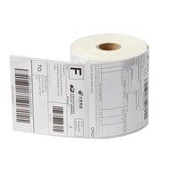 Adres yapışkan etiketler 100*100mm * 500 yaprak termal etiketleme ve sızdırmazlık için kağıtları ile marks toptan iyi bir fiyat