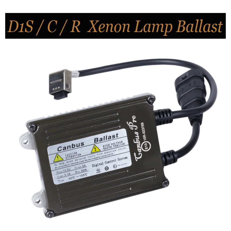 FREE SHIPPING 12V-24V High Quality D1 Canbus And Fast Start Ballast For D1C D1S D1R HID Light Bulbs 35W Xenon Ballast