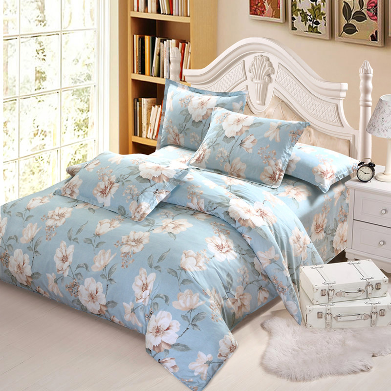 American style Luxury white flower bedding set twin full queen king cotton girl princess wed home textile bedspread quilt coverAmerican style Luxury white flower bedding set twin full queen king cotton girl princess wed home textile bedspread quilt cover