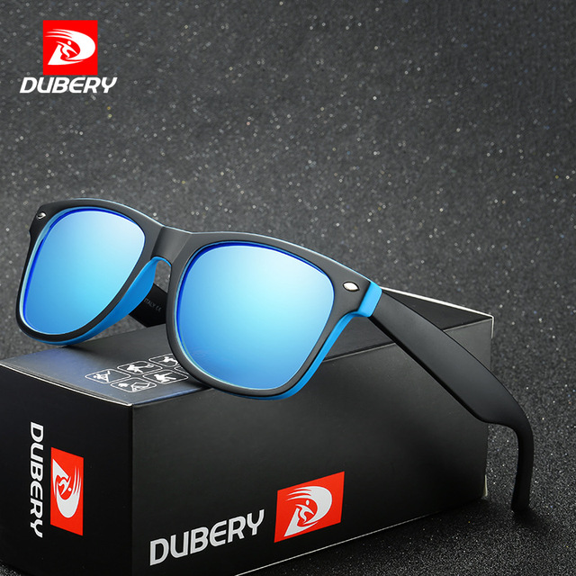 6f4e375ada DUBERY Brand 2018 Best Seller Polarized Sunglasses Men Women Unisex Fashion  Square Mirror Lens Drive Shades Sun Glasses D728
