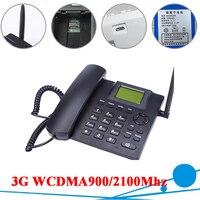 3G WCDMA900/2100Mhz Fixed GSM Desktop Telephone Desktop GSM Fixed Cellular Terminal GSM Desk Phone Office Phone