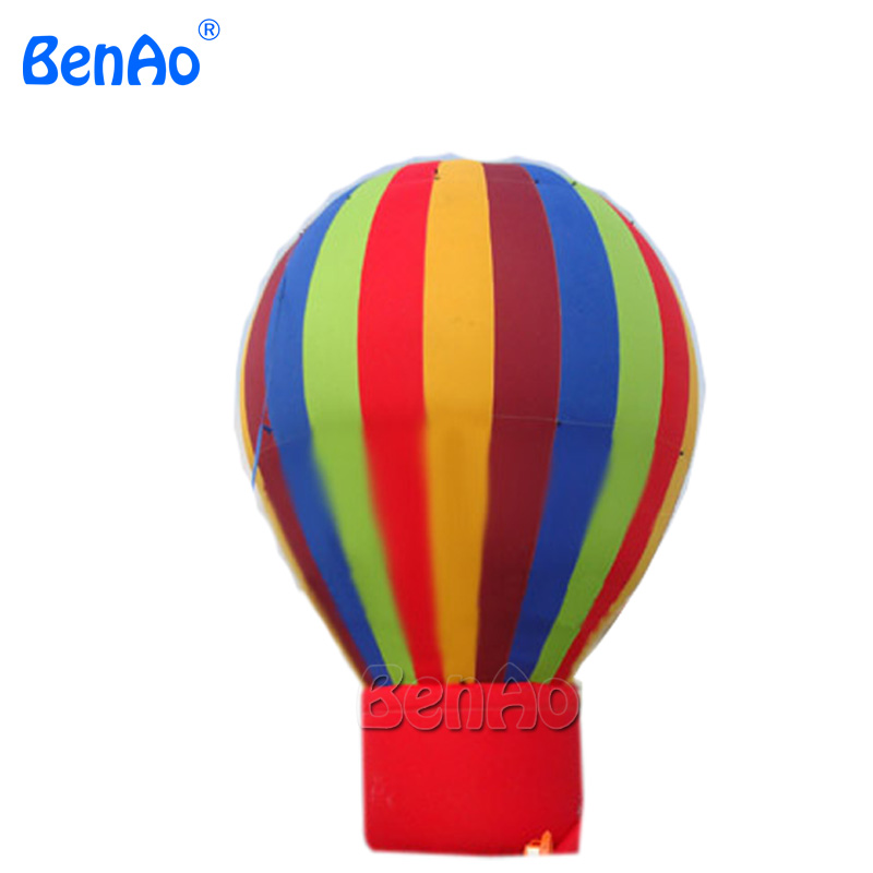 AG046 Rainbow inflatable ground balloon for exhibition, advertising ground inflatable balloons free shipping 16 5ft inflatable advertising hydrogen balloon helium blimp airship airplane balloon for advertising