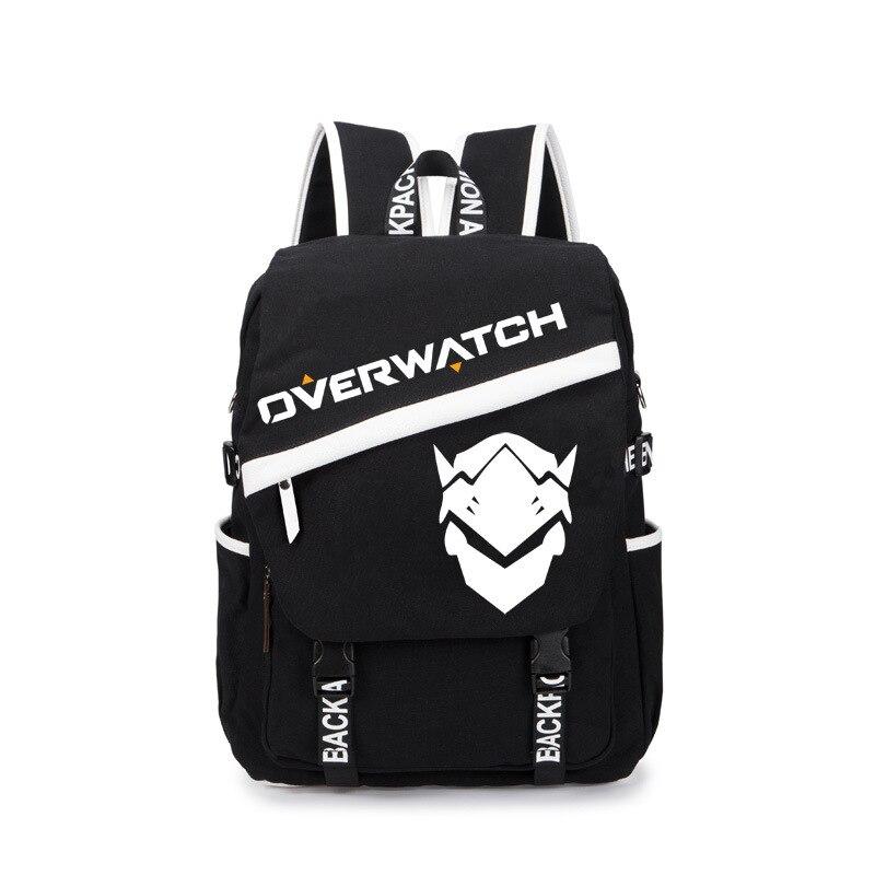 DVA Backpack Reaper Gabriel Reyes Genji Shoulder Bag Over Watch Daypack