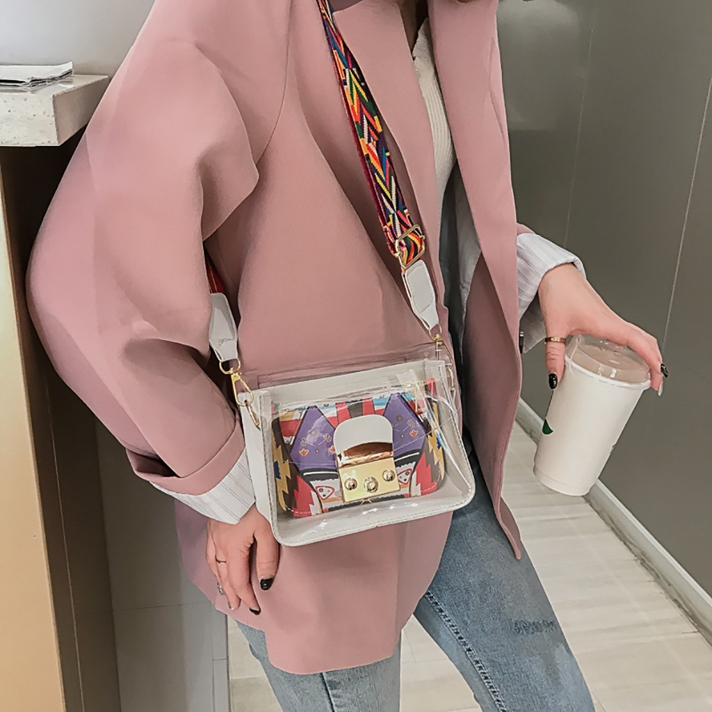 Bags Women Wild Messenger Transparent Jelly Shoulder Sac Femme Woman Bag 2019 Carteras Mujer De Hombroy Bolsos Bolsa Feminina