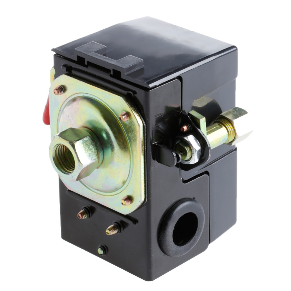 1 Port Air Compressor Pressure Control Switch 95 125PSI On/off Lever 220V|switch switch - title=