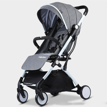 Child Baby stroller lightweight Portable Travel system Rubbe