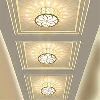 5W Corridor Led Ceiling Lamp Aisle Veranda Lighting Down Crystal Recessed Mounted LED Ceiling Lights for Living Room Bedroom