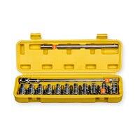 13pcs Tool Combination Torque Wrench Bicycle Car Repair Tool Set Ratchet Socket Spanner Mechanics Tool Kits
