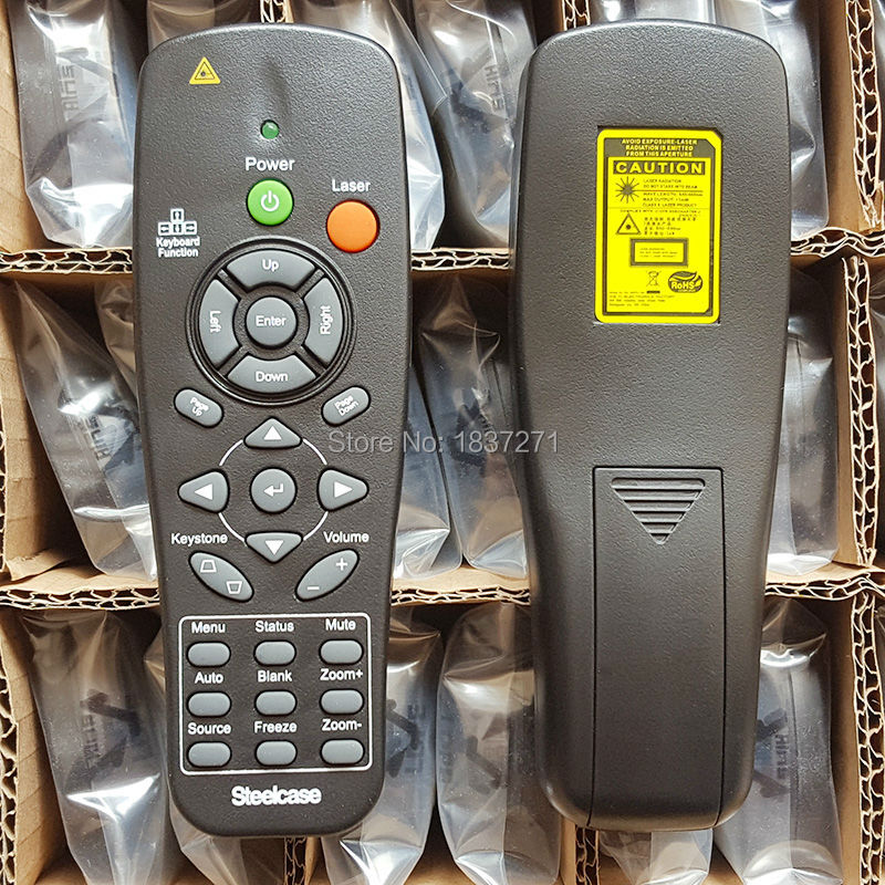 New Original Remote Control for steelcase Office furniture projectors