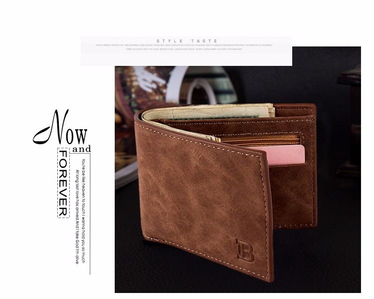 Topdudes.com - New Design Slim Wallet with Coin Pocket