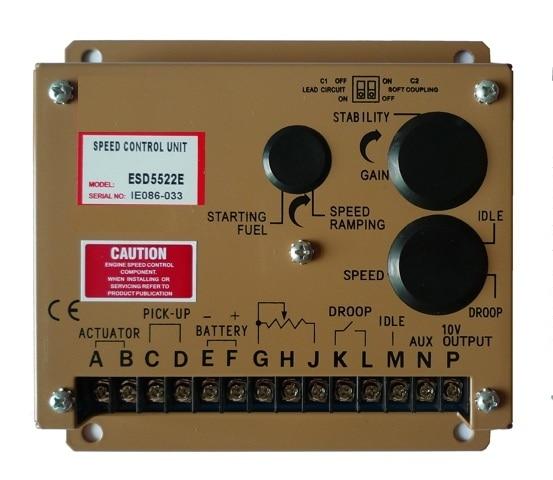 diesel generator speed controller ESD5522E governor цена