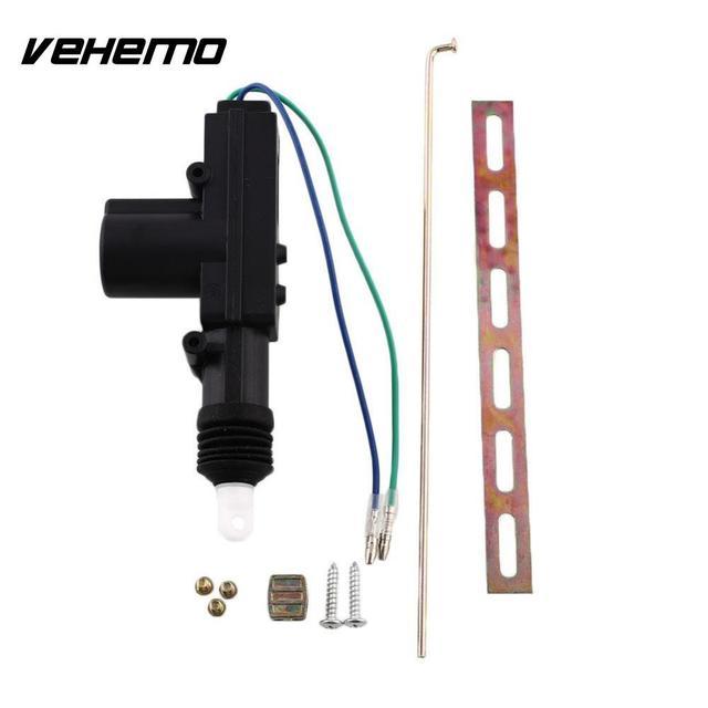 Vehemo OEM 2 Wire Door Central Lock Entry 12V DC Motor Auto Pop ...
