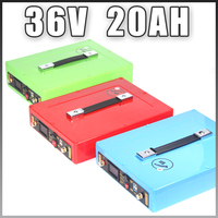1000W 36V Electric Bike battery 36V 20AH Lithium Battery 36 Volt 20AH Ebike battery with 30A BMS