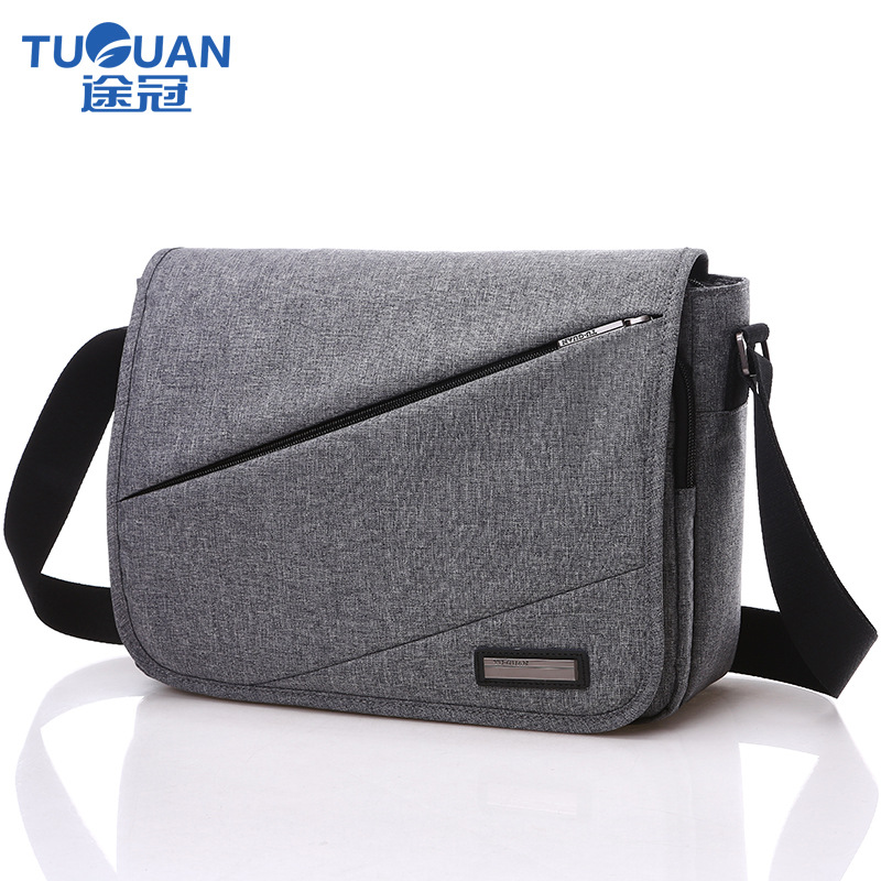 2017 New TUGUAN Brand Designer Unisex Men Canvas Messenger Bags Korean Style Girl Cross Body Shoulder Bags for A4 Magazine