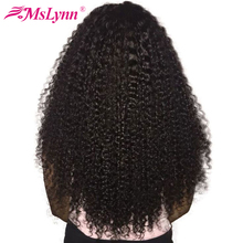 Mslynn Afro Kinky Curly Hair Bundles Brazilian Hair Weave Bundles 1 Piece 100% Human Hair Extensions Non Remy Hair Can Be Dyed