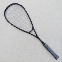 1 PC 100% carbon-fiber Squash racket,Black GRAPHITE 500 squash racquet 145g