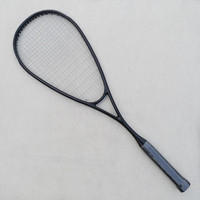 1 PC 100% carbon fiber Squash racket,Black GRAPHITE 500 squash racquet 145g