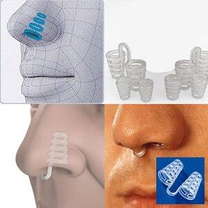 Image 2 - Dispositivo profesional antironquidos para el cuidado de la salud, 2 uds., Clip para la nariz, alivia los ronquidos para detener los ronquidos, para hombres y mujeres