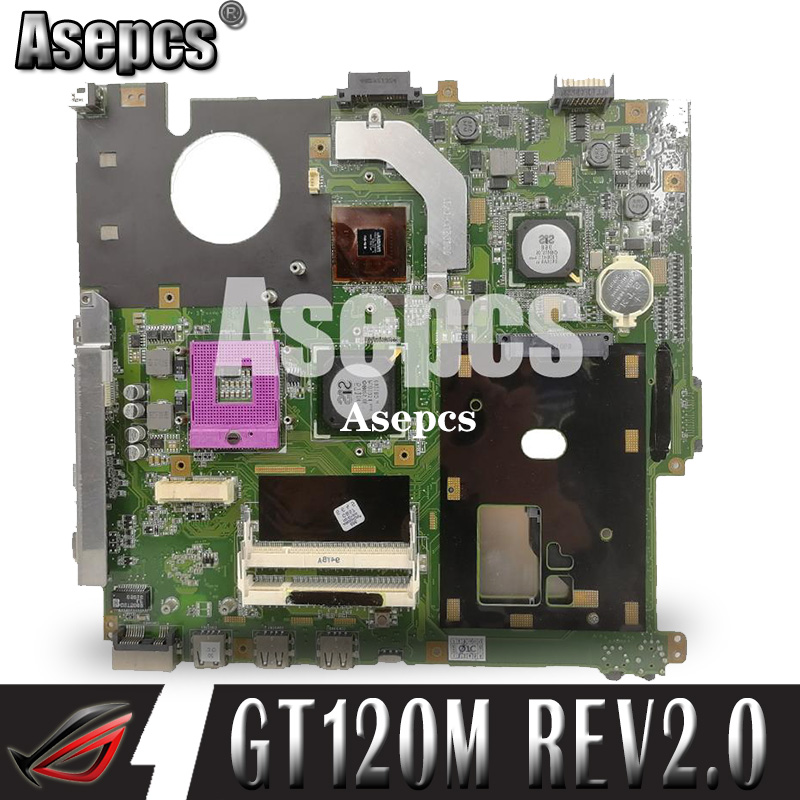 Asepcs F50SV GT120M Mainboard REV2.0 For ASUS F50SV F50SL Laptop Motherboard 60-NUDMB1100-A01 Tested Working