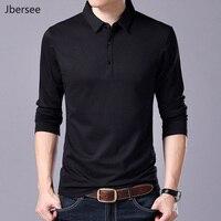 Fashion Men T Shirt Spring Autumn Slim Tshirt Men Tops Long Sleeve Streetwear Casual T Shirt Men 100% Cotton Tee Shirt Homme