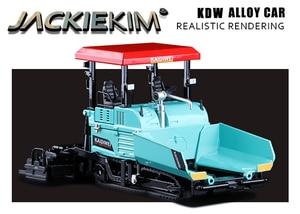 Image 5 - Simulation 1:40 Engineering Alloy Paver Paving Asphalt Highway Construction Car Vehicle Model Decoration Kid Toys Free Shipping