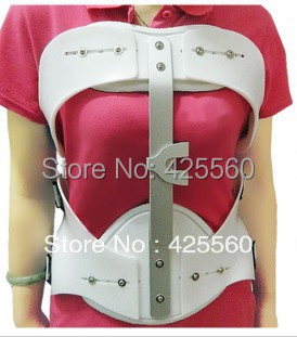 Adjustable Thoracolumbar Brace Chest Waist Support Lumbar Fixed Device Fast Shipping