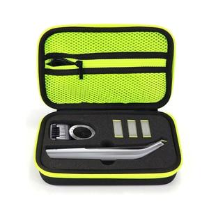 Image 1 - Housse de voyage Portable pour sac rigide pour Norelco OneBlade Pro Anti chute étanche pratique pour Philips rasoir boîte de rangement
