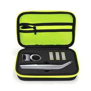 Image 1 - Taşınabilir Seyahat Sert Çanta Case Kapak için Norelco OneBlade Pro Anti Sonbahar Su Geçirmez Pratik Philips Tıraş Makinesi Için saklama kutusu