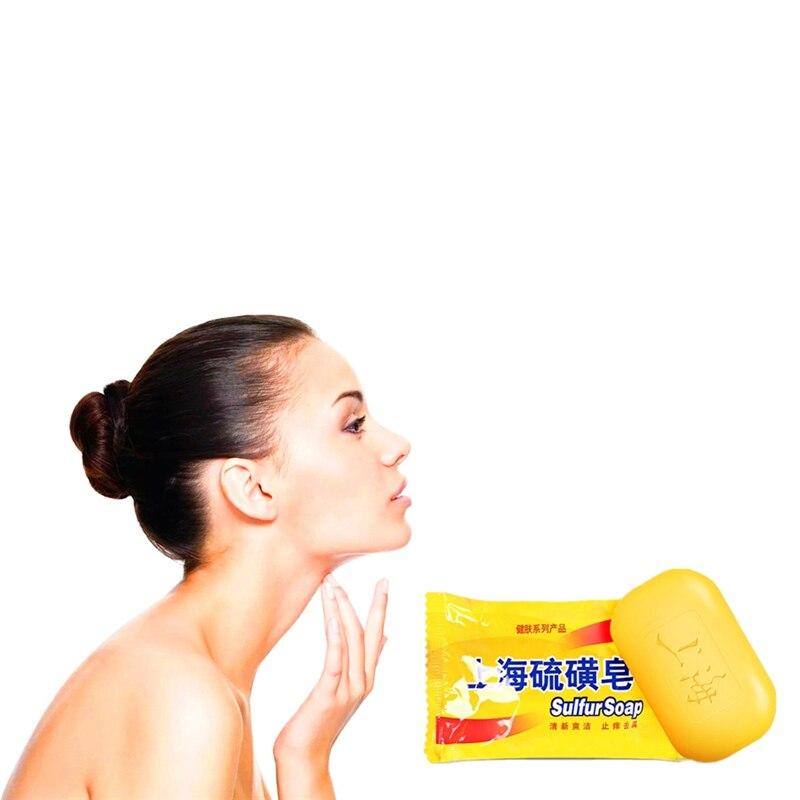 Chicken Skin Treament Repair Remove Dead Skin Goose Bumps Pimples Foliculitis Whole Whitening Natural Sulfur Soap