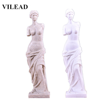 VILEAD 9.4 Venus Statues Nature Sand Stone Figurines Miniatures Statuettes  Creative Gifts Souvenirs Vintage Home Decor