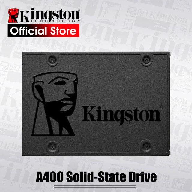 Kingston A400 Внутренний твердотельный накопитель 120 ГБ 240 480 2,5 дюйма Жесткий диск SSD SATA III HDD жесткий диск твердотельный накопитель HD для Тетрадь ПК