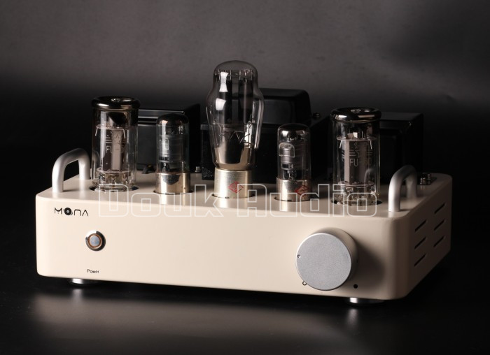 Douk Audio Latest FU50 / EL34 Vacuum Tube Amplifier Stereo Single-Ended Class A Power Amp 8W*2 Pure DIY hand scaffolding