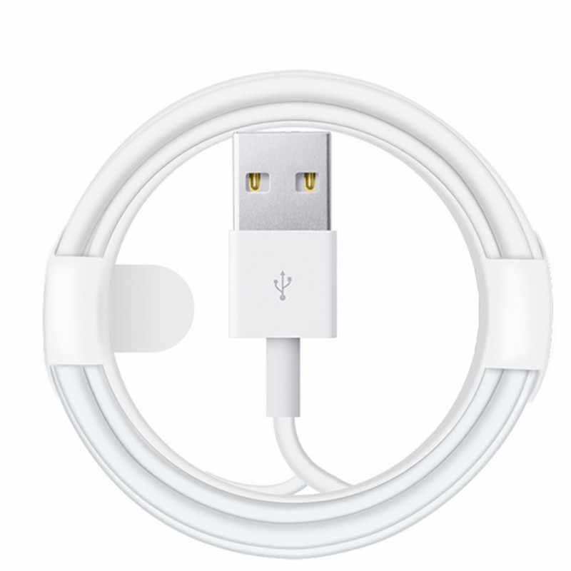 Dataland Kabel USB untuk Lightning iPhone Kabel XS Max X XR 8 7 6 6 S PLUS Kabel Pengisian untuk iphone Charger Ponsel Kabel Data