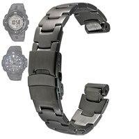 Нержавеющая сталь ремешок для Casio PRG-300/PRW-6000/PRW-6100/PRW-3000/PRW-3100 ремешки для часов