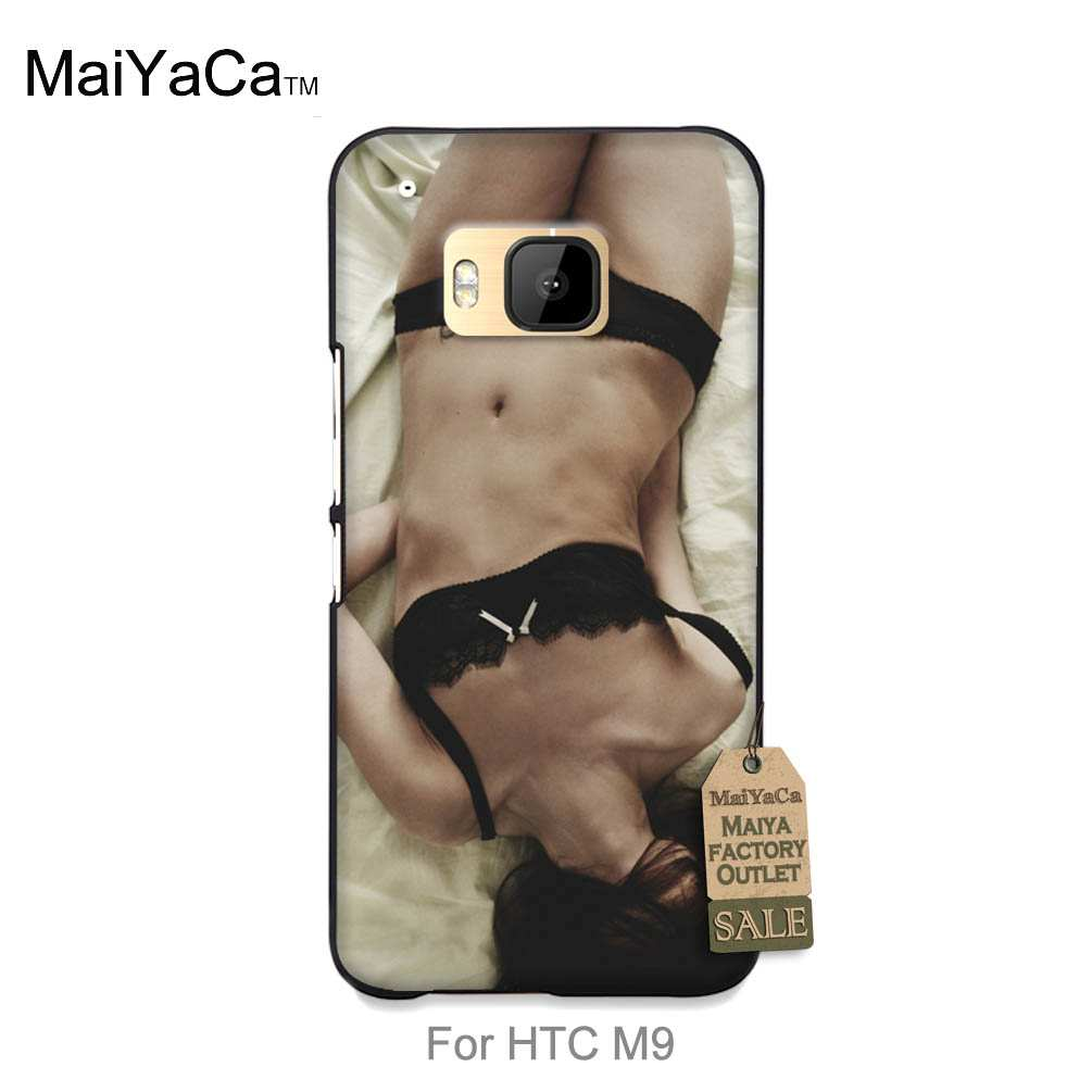 MaiYaCa Classic image paintings cover mobile phone case For case HTC One m9 Sexy girl in ...