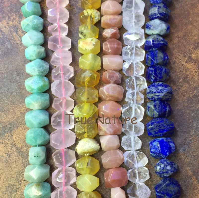 High Quality Nugget Beads Rose Quartzs/ Crystal Quartz/ Sodalite/ Amazonite Loose Beads Strands Necklace In 13*18 mm BE6379 faceted nugget loose beads sakura agates loose beads full strands cherry agates stone petite nuggets beads in 12 30 mm be7578