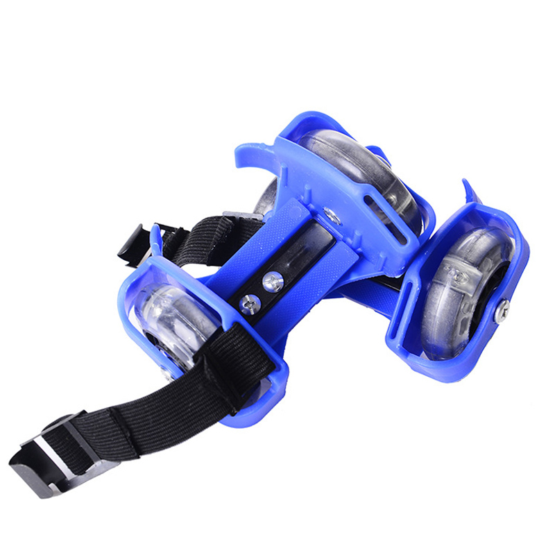 Flashing Roller Skating Shoes Small Whirlwind Pulley Flash Wheel Roller Skates Sports Rollerskate Shoes For Kids