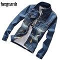 Hee grand nueva primavera masculina chaqueta de mezclilla ropa masculina de la chaqueta chaquetas casuales jeans de moda chaquetas más el tamaño s-5xl mwj2230