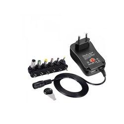 3 V 4.5 V 5 V 6 V 7.5 V 9 V 12 V 2A 2.5A AC DC adapter regulowany zasilacz uniwersalny zasilania ładowarki do taśmy Led światła lampy 30 W