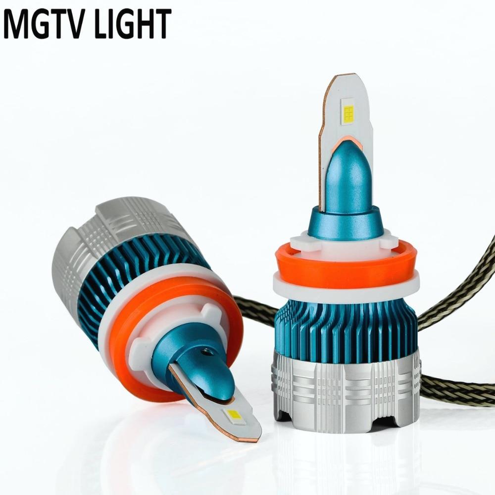 Car Lights Mini H4 H7 Led Car Headlight Kit 60w/set H1 H11 9005 Hb3 9006 Hb4 H8 6000k Bulbs Car Accessories 6500k Fog Light Automobiles & Motorcycles
