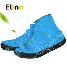 Cubierta de zapato impermeable Elino para hombres zapatos de mujer funda de lluvia de látex elasticidad fácil de llevar sobre los zapatos Protector de bota resistente a la rotura