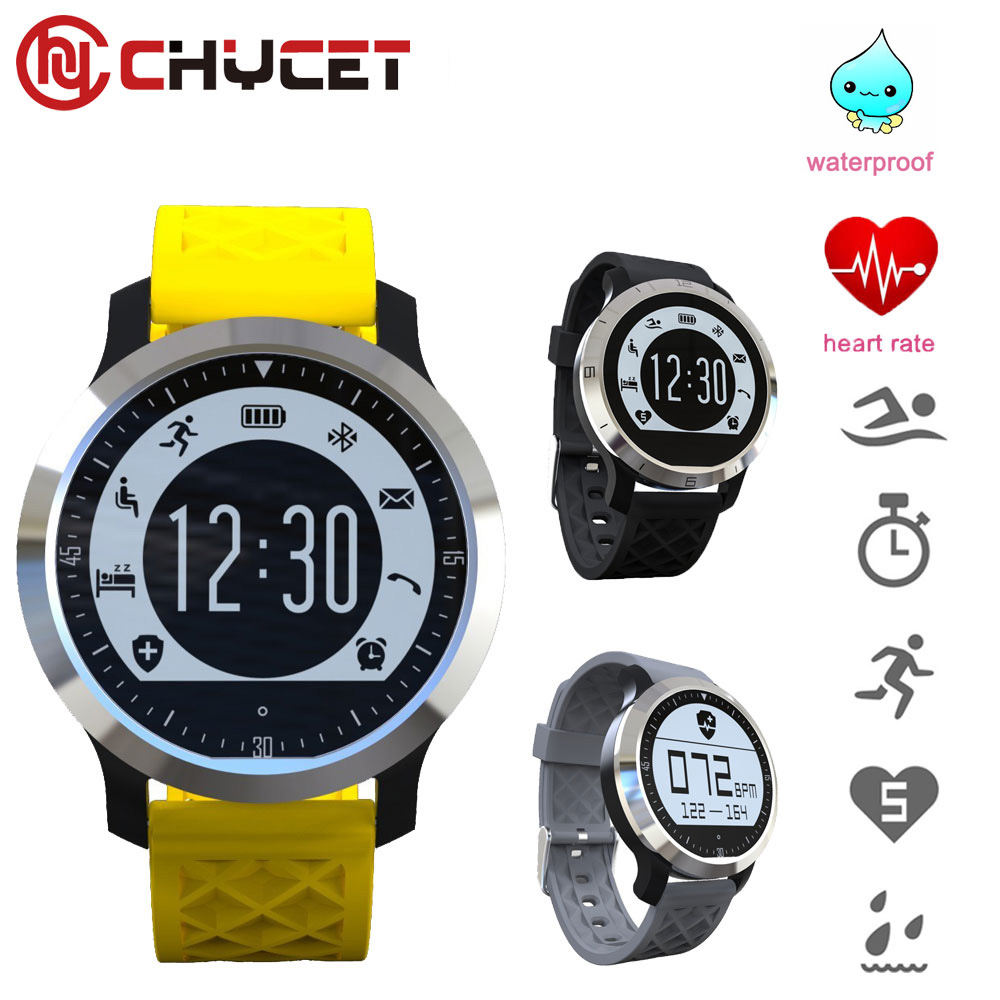 F69 Bluetooth Smart Watch IP68 Waterproof Heart Rate Monitor Fitness Tracker Swimming Healthy Wristband for IOS Android PK Q18 zaoyiexport bluetooth f69 smart watch ip68 fitness tracker heart rate monitor smartwatch for iphone xiaomi android pk gt08 dz09