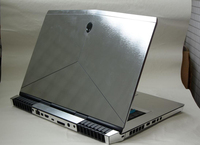 KH Laptop Brushed Glitter Sticker Skin Cover Protector for New Alienware 15 AW15R4 M15X R4 15.6 2018 release