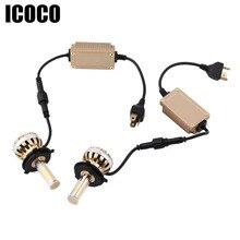 ICOCO 120W 9005/9006/H1/H4/H7/H8/H9/H11 LED Headlight Kit 6000K C8 12000lm Replacement Car Bulbs Lamps Light