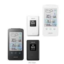 цена на Digital Weather Station Displays Hygrometer Thermometer Moon Phase Forecast Indoor Outdoor Sensor