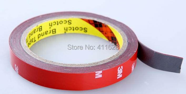 10x 30mm (3cm)*3M 3M Strong Sticky Adhesive Acrylic Foam Tape for Auto Car Truck Advertise, Metal Panel Frame Attach 2cm 3cm 4cm strong fiber strips adhesive tape for rc models