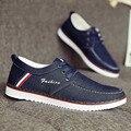 2016 New Fashion Breathable Men Casual Shoes Soft Canvas Men Shoes Spatos Tenis Male Flat Shoes For Men ET21